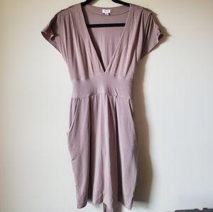 Wilfred (Aritzia) V-neck dress size M